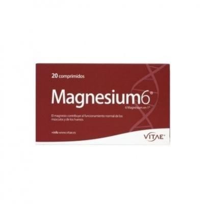 Vitae. Magnesium6. 20 comp.