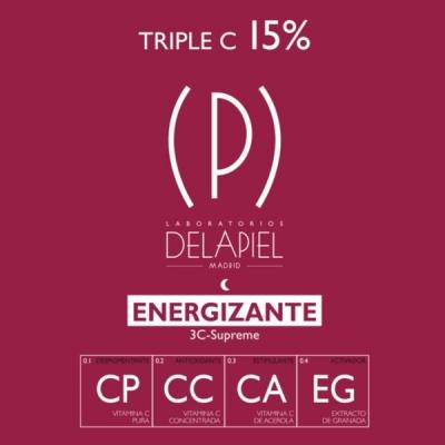 Delapiel Energizante 15 amp...