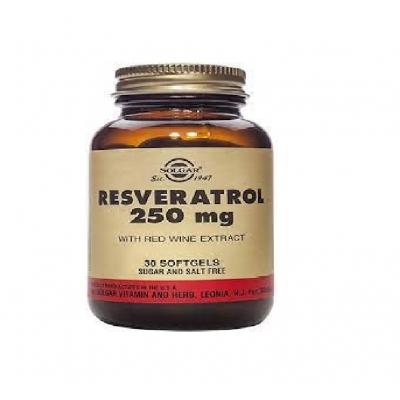 Resveratrol 250mg 30 cápsulas