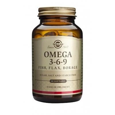 Solgar Omega 3-6-9. 60 perlas
