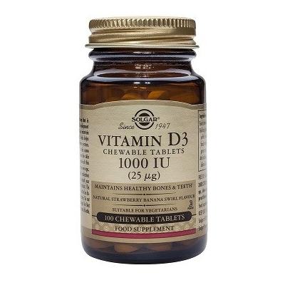 Solgar Vitamina D3 1000 UI...